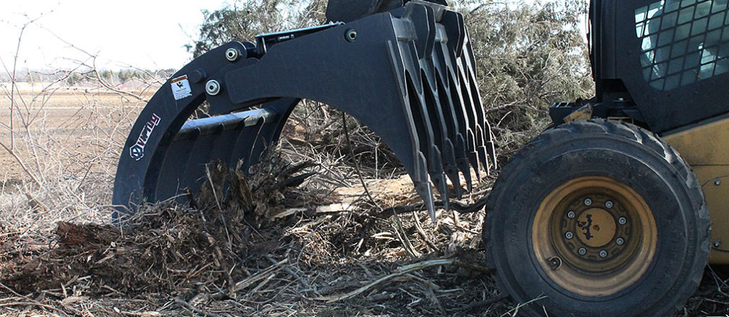 Root Grapple for Skid Steer